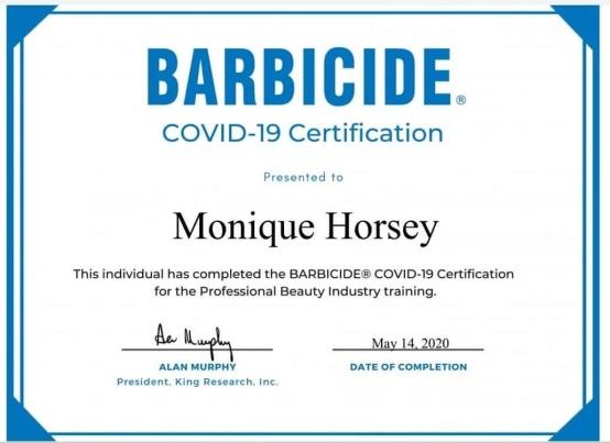 covid 19 barbicide